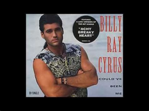 Billy Ray Cyrus — Could've Been Me — Listen, watch