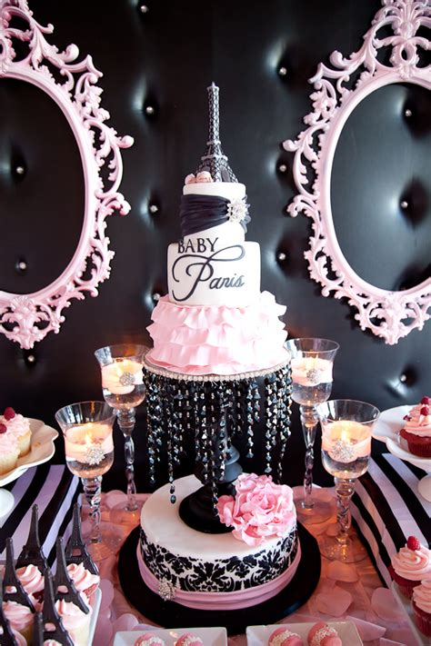 Paris Inspired Baby Shower - Baby Shower Ideas - Themes